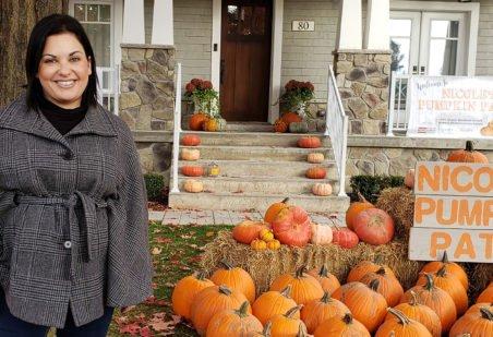 Nicole Beinert at Nicole's Pumpkin Patch